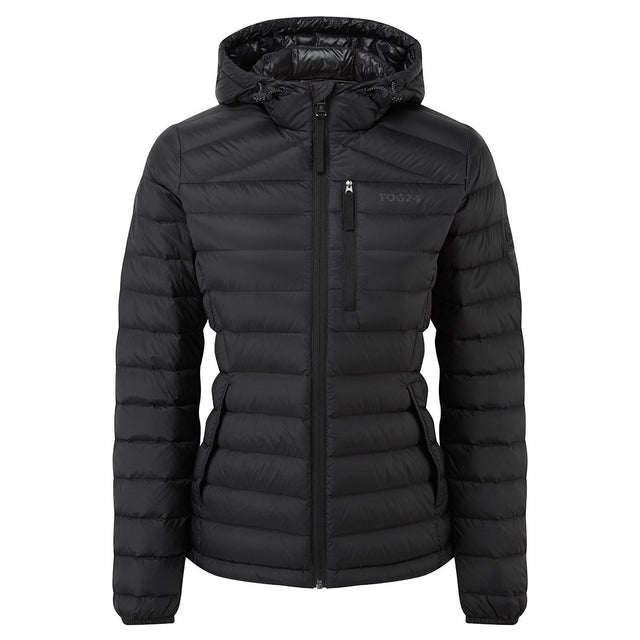 Base Womens Hooded Down Jacket - Coal Grey image 7