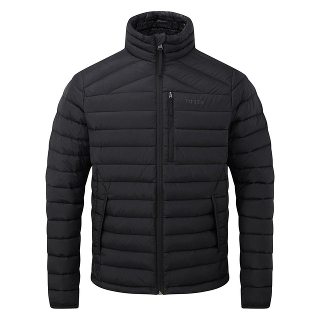 Base Mens Funnel Down Jacket - Coal Grey image 2