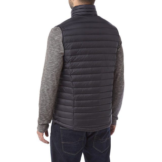 Beck Mens Down Gilet - Black image 3