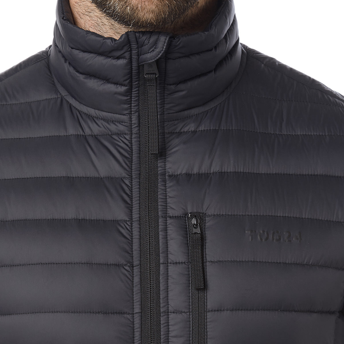 Beck Mens Down Gilet - Black image 4