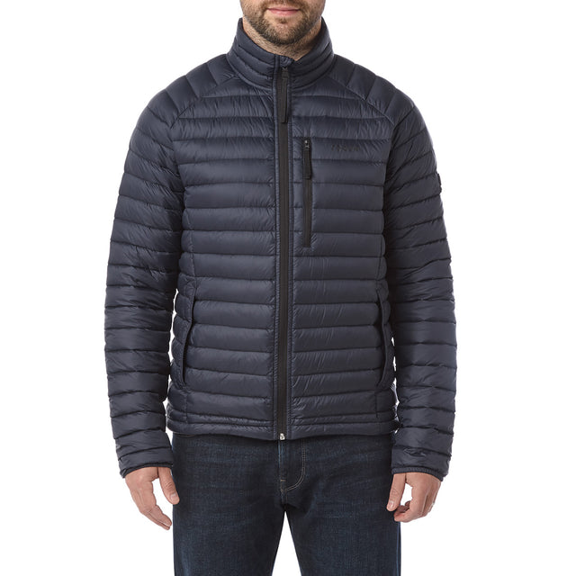 Beck Mens Down Jacket - Navy image 2