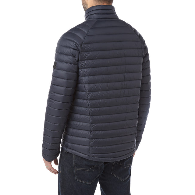 Beck Mens Down Jacket - Navy image 3