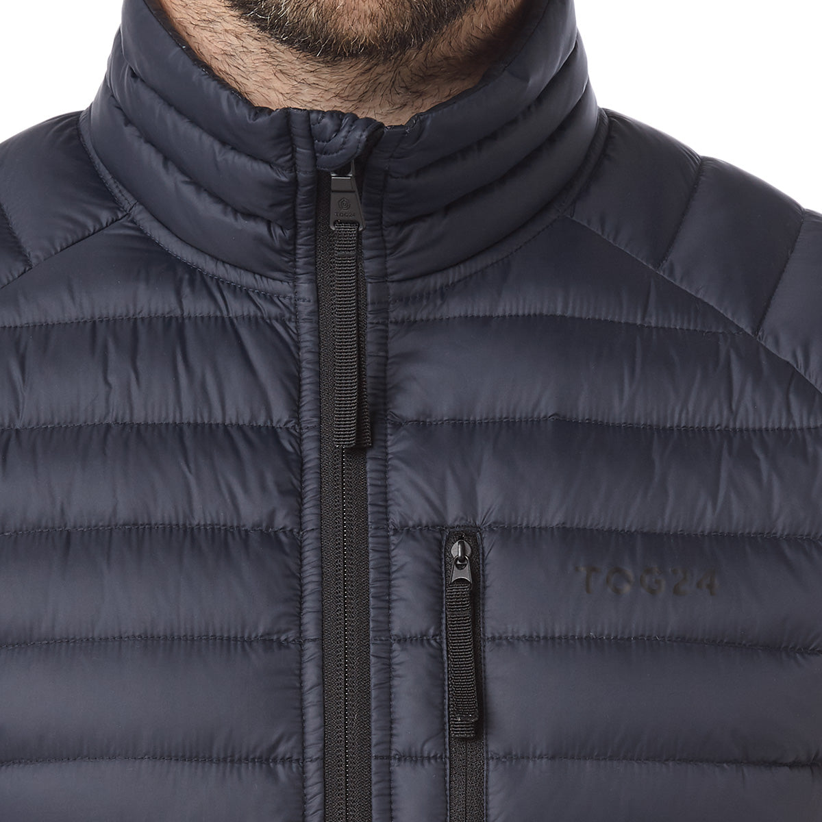 Beck Mens Down Jacket - Navy image 4