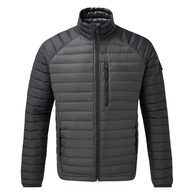 Beck Mens Down Jacket - Charcoal/Black image 1