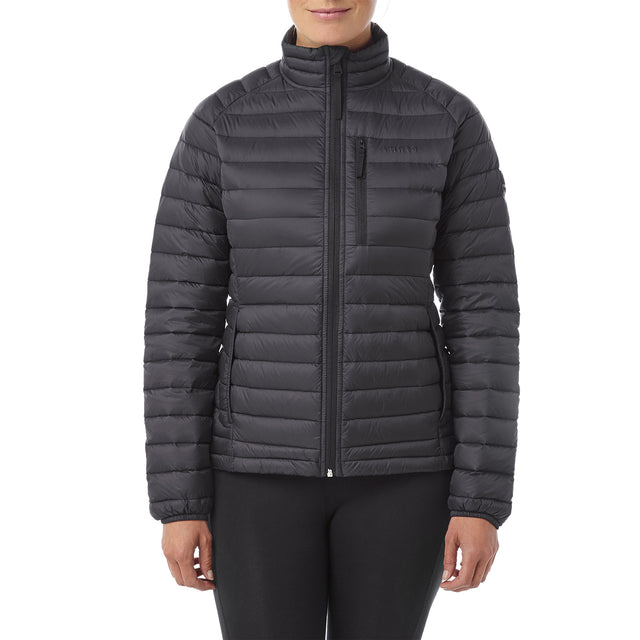 Beck Womens Down Jacket - Black image 2