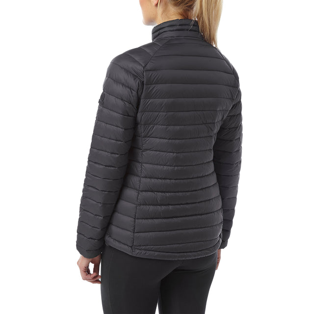 Beck Womens Down Jacket - Black image 3