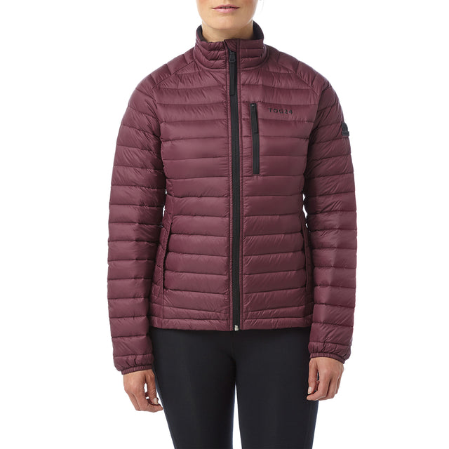 Beck Womens Down Jacket - Deep Port image 2