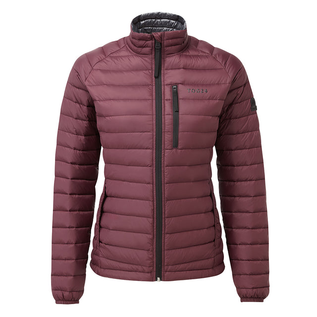 Beck Womens Down Jacket - Deep Port image 1