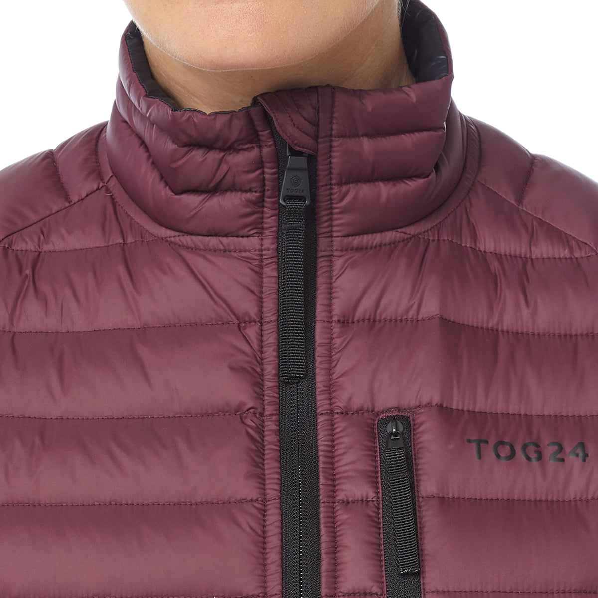 Beck Womens Down Jacket - Deep Port image 4