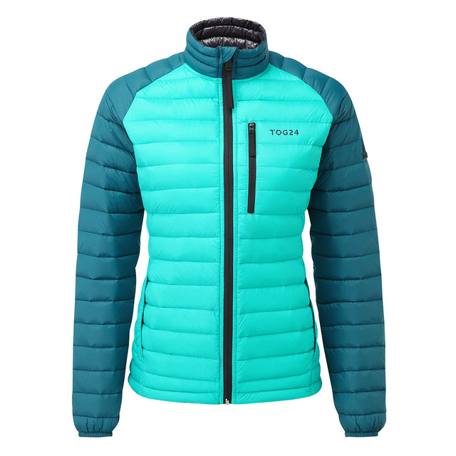 Beck Womens Down Jacket - Ceramic/Lagoon image 1