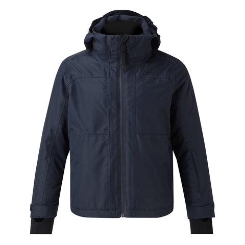 Bedlam Kids Waterproof Insulated Ski Jacket - Navy