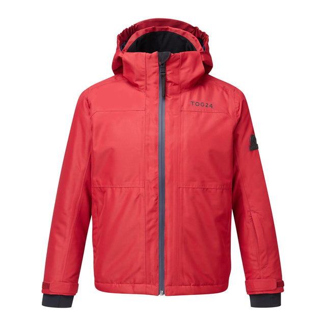 Bedlam Kids Waterproof Insulated Ski Jacket - Chilli Red image 1