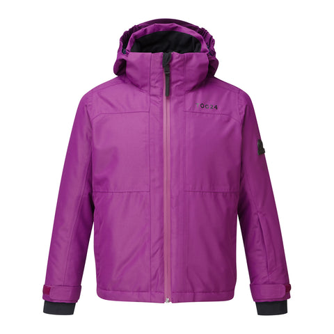 Bedlam Kids Waterproof Insulated Ski Jacket - Grape