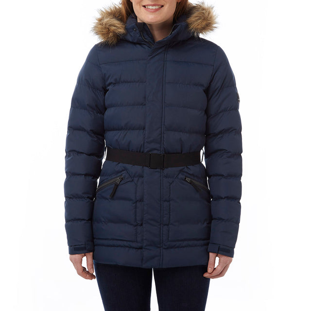 Blake Womens TCZ Thermal Jacket - Navy image 2