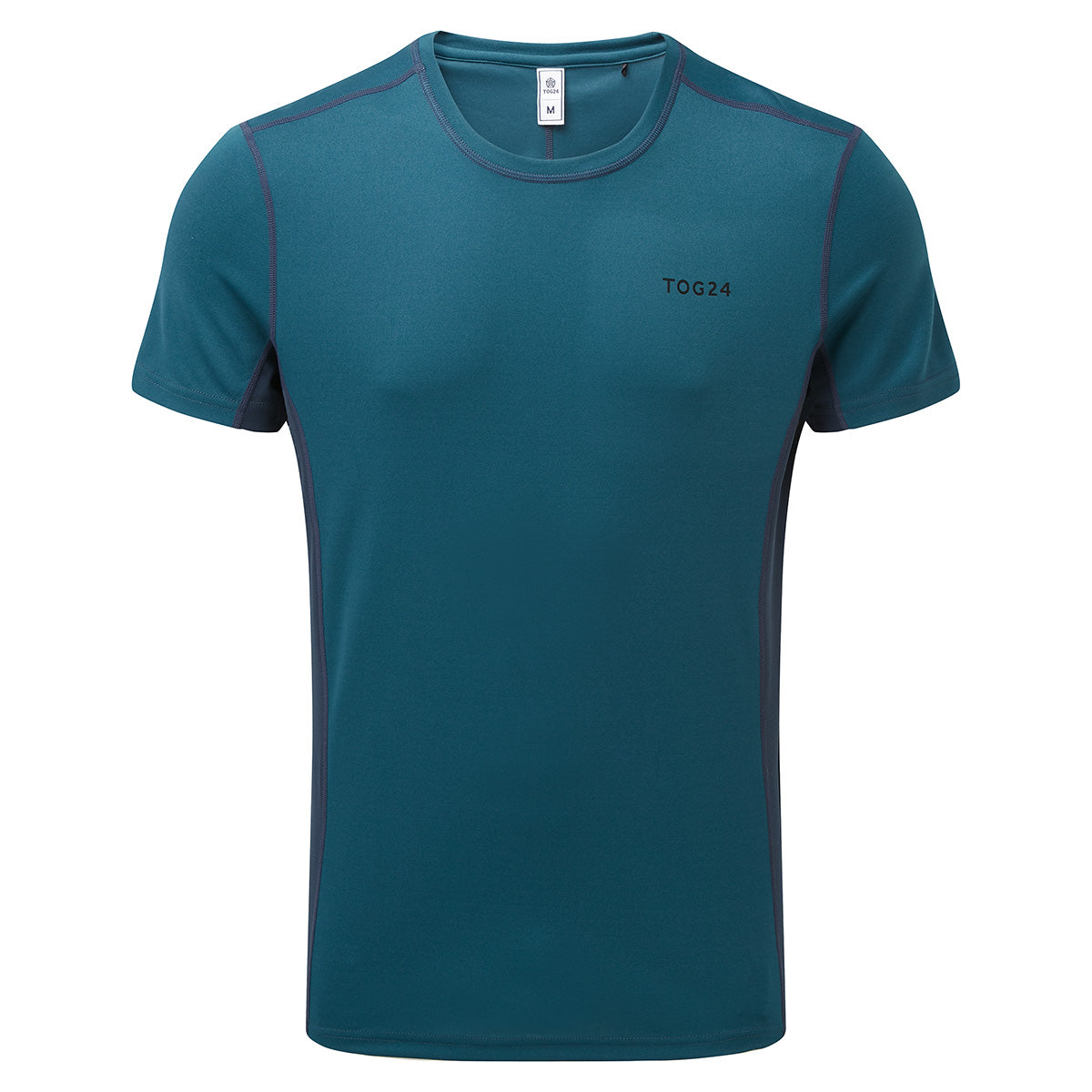 Blevin Mens Performance T-Shirt - Lagoon/Naval Blue