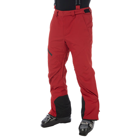 Bolt Mens Waterproof Insulated Salopettes - Chilli Red