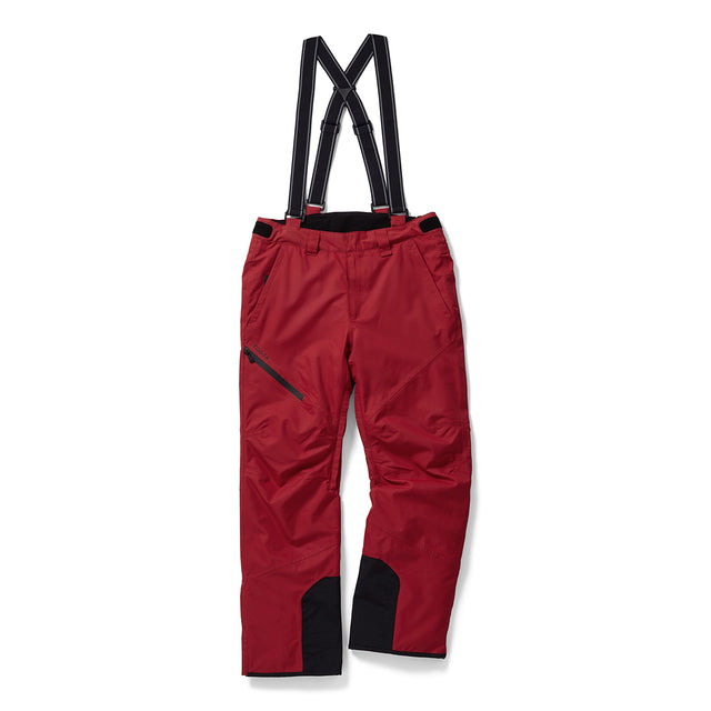 Bolt Mens Waterproof Insulated Salopettes - Chilli Red image 1