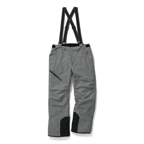 Bolt Mens Waterproof Insulated Salopettes - Grey Marl