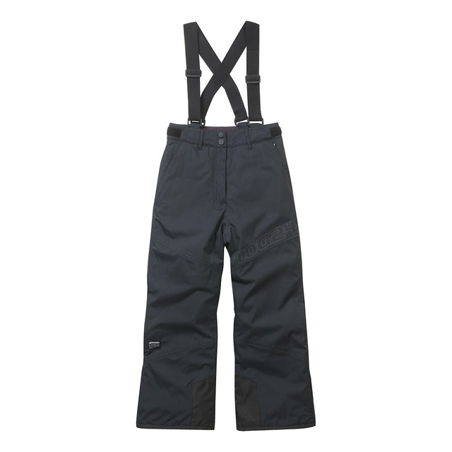 Boundary Kids Milatex Ski Salopettes - Black image 1