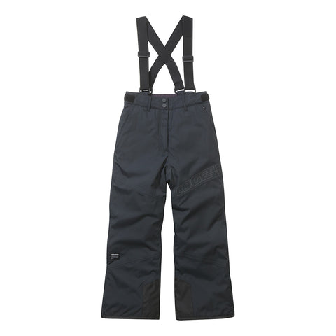 Boundary Kids Milatex Ski Salopettes - Black