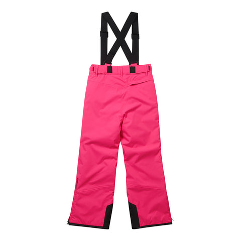 Boundary Kids Milatex Ski Salopettes - Neon