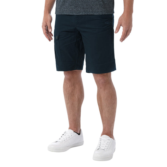 Bradshaw Mens Performance Cargo Shorts - Dark Navy image 2