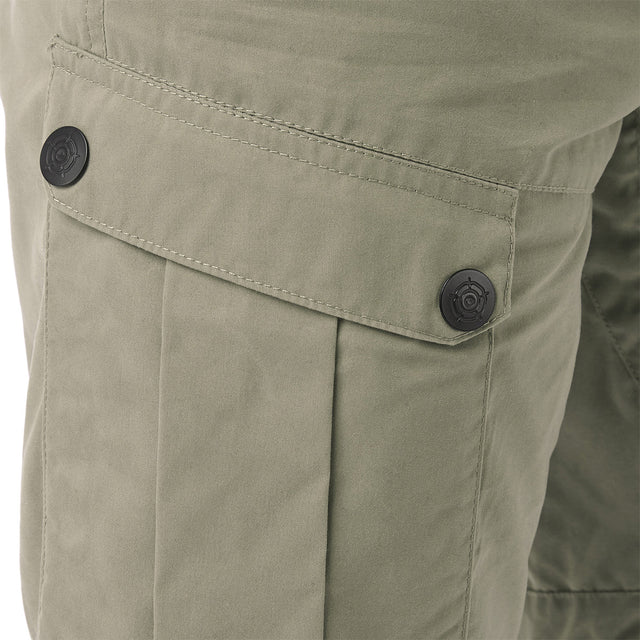 Bradshaw Mens Performance Cargo Shorts - Stone image 5