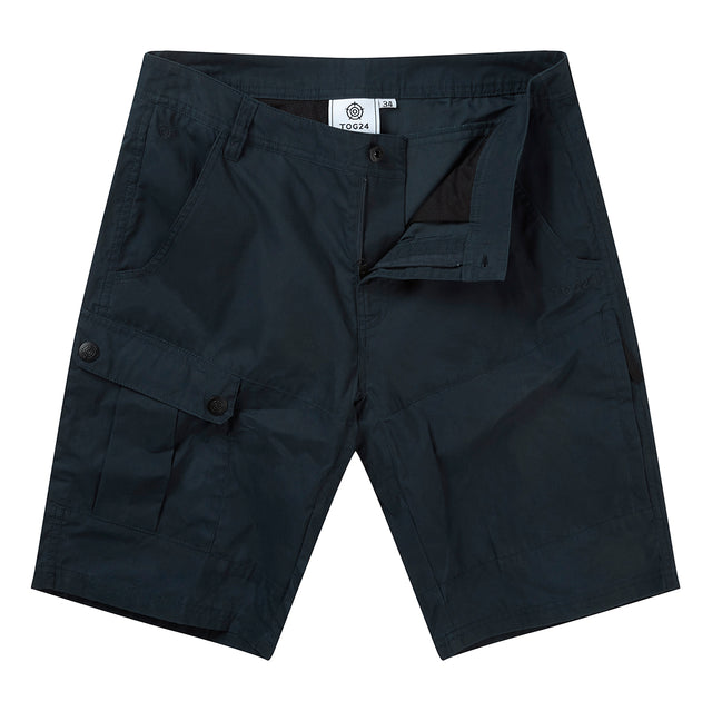 Bradshaw Mens Performance Cargo Shorts - Dark Navy image 1