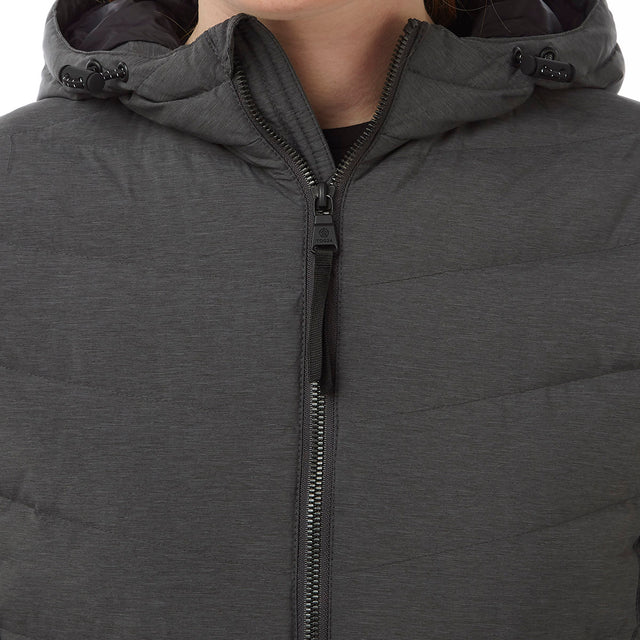 Bramley Womens Down Jacket - Dark Grey Marl image 5