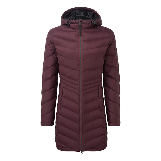 Bramley Womens Down Jacket - Deep Port image 6