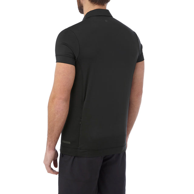 Brawl Mens Performance Polo Shirt - Black image 3