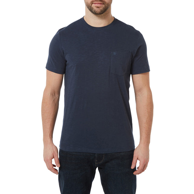 Brayton Mens T-Shirt - Denim image 2