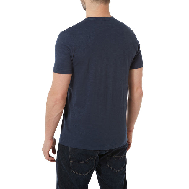 Brayton Mens T-Shirt - Denim image 3