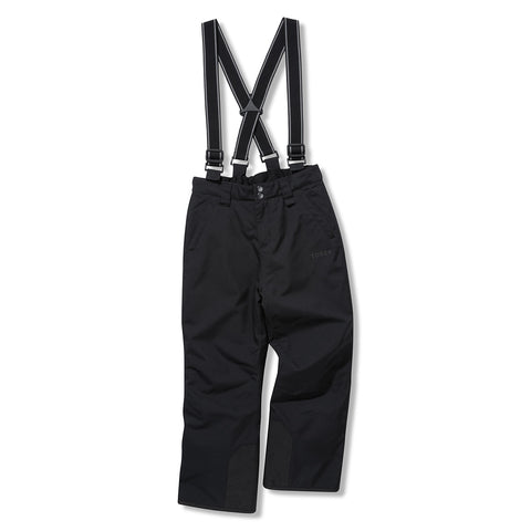 Brent Kids Waterproof Insulated Ski Pants - Black