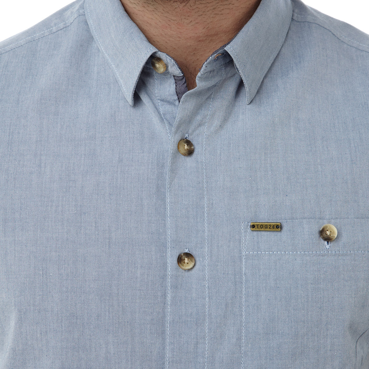 Bruce Mens Shirt - Light Blue image 4
