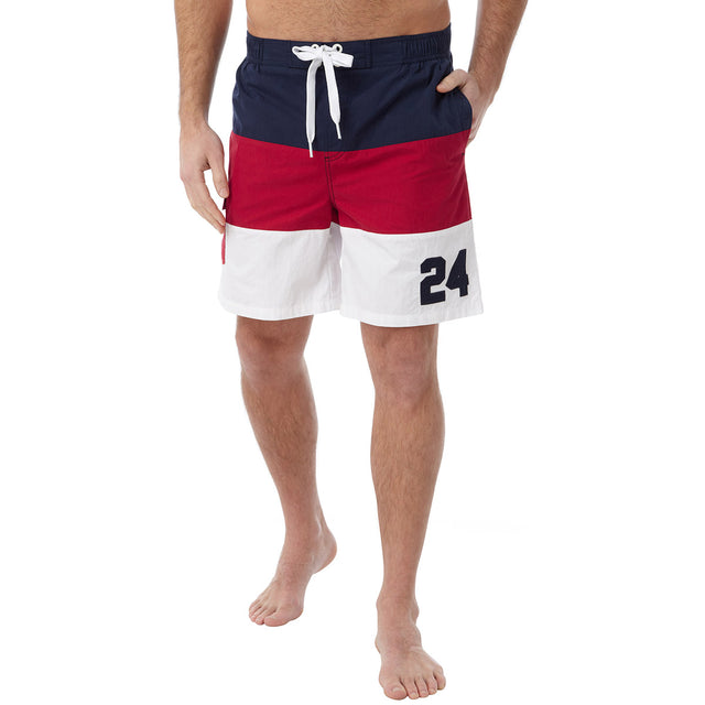 Bude Mens Swimshorts - Chilli image 2