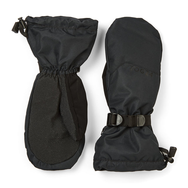 Burley Waterproof Ski Mitts - Black