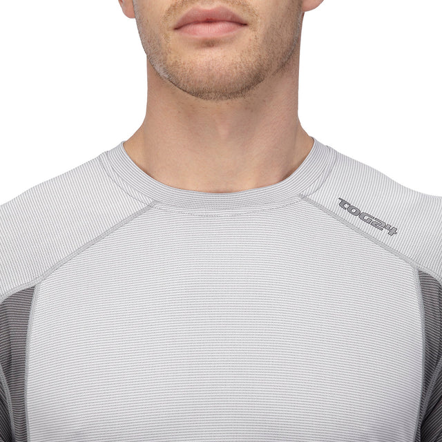 Cairn Mens TCZ Bamboo T-Shirt - White image 3