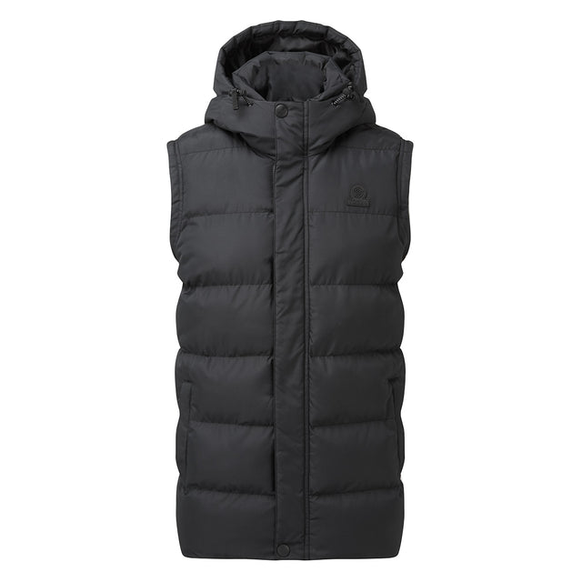 Caliber Mens Insulated Gilet - Black image 5