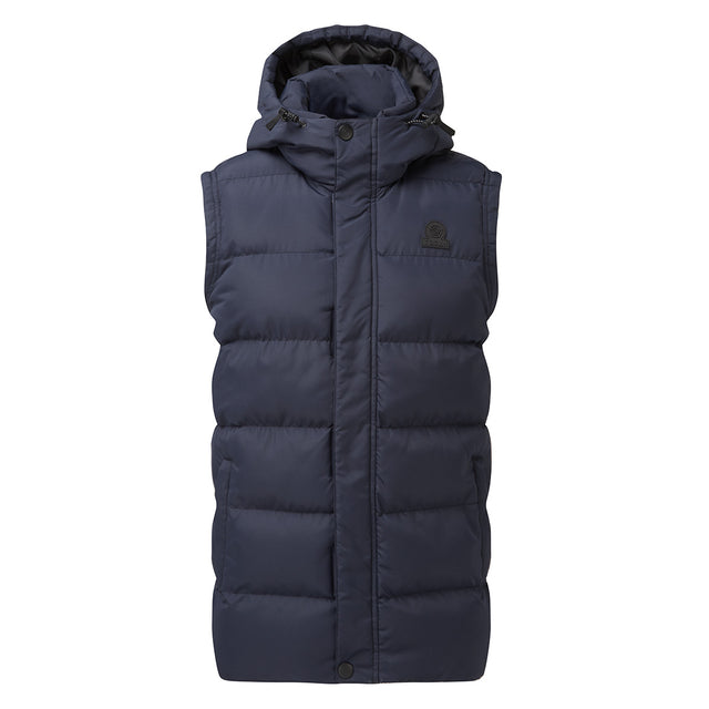 Caliber Mens Insulated Gilet - Navy image 5