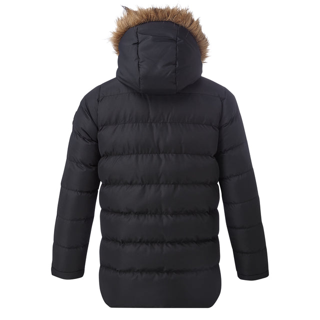 Caliber Kids Insulated Jacket - Black image 2