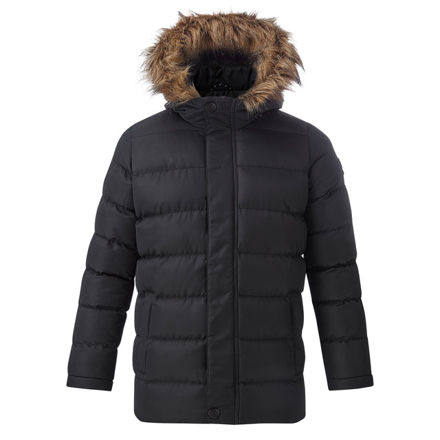 Caliber Kids Insulated Jacket - Black image 1