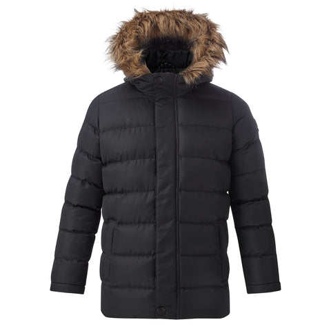 Caliber Kids Insulated Jacket - Black