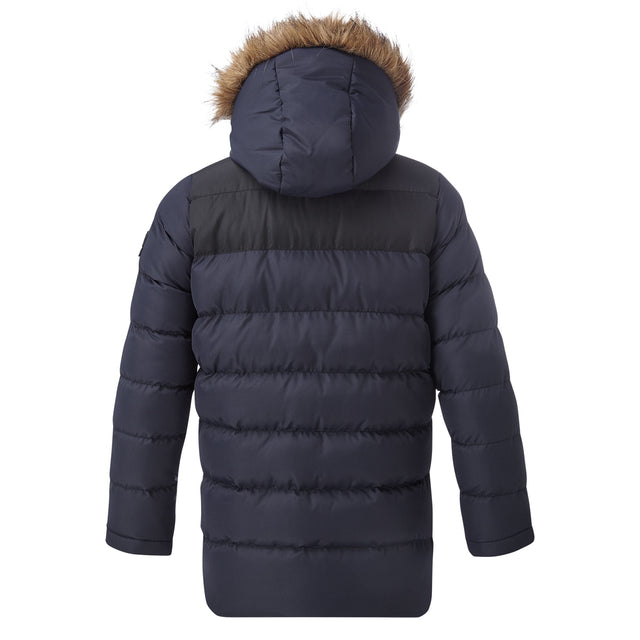 Caliber Kids Insulated Jacket - Navy/Black image 2