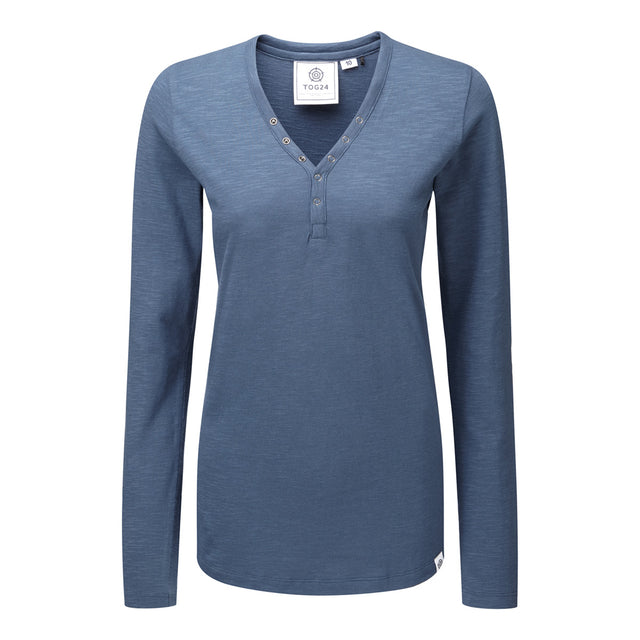 Catwick Womens Long Sleeve T-Shirt - French Navy image 1