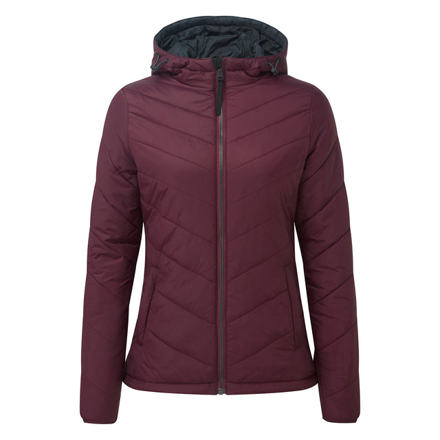 Clancy Womens TCZ Thermal Jacket - Deep Port image 6
