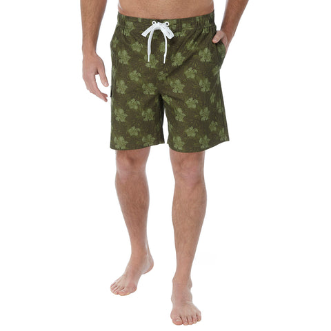 Cove Mens Swimshorts - Military Print