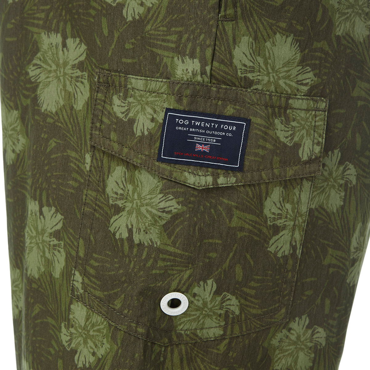 Cove Mens Swimshorts - Military Print image 4