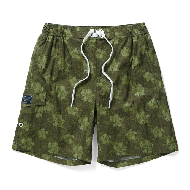 Cove Mens Swimshorts - Military Print image 1