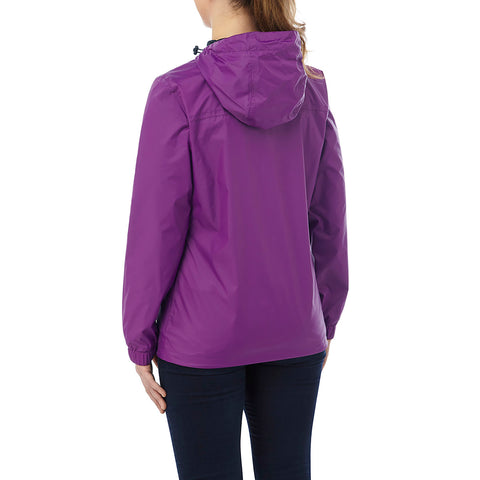 Craven Womens Waterproof Packaway Jacket - Grape